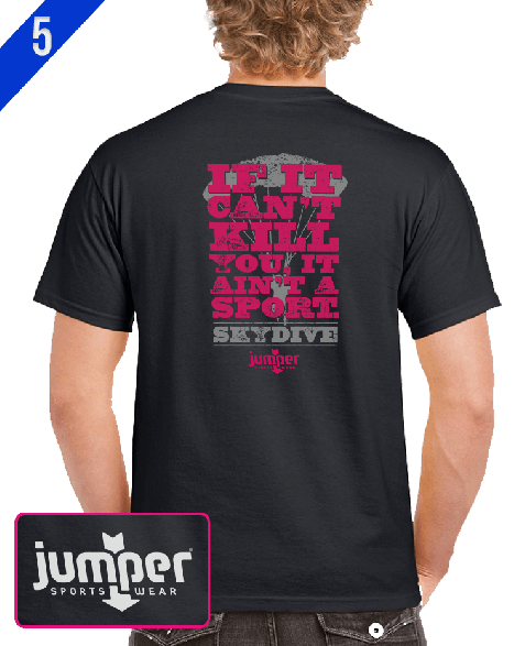 Ain't a Sport II 0066 DTG Custom T-Shirt