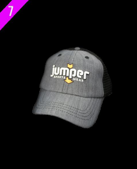 Curve-Billed Jumper Orange Cap