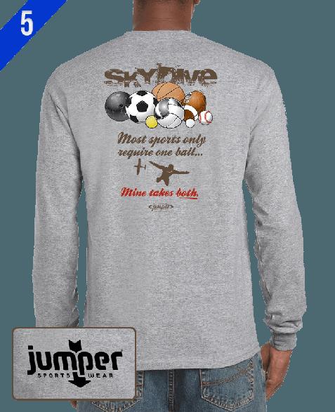 Takes Both II 0065 DTG Custom Long Sleeve Shirt