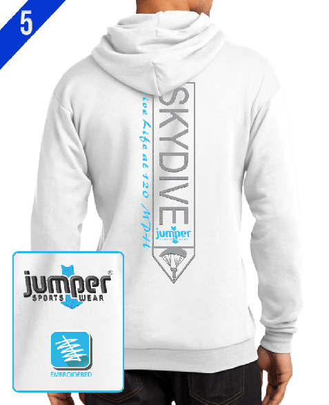 Jumper Vertical 0023 Custom Pull Over Hoodie