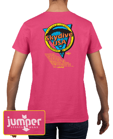 Jump to Know 9833 DTG Ladies' Custom T-Shirt