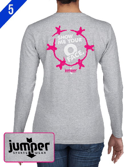 O-Face 0069  DTG Ladies' Custom Long Sleeve Shirt