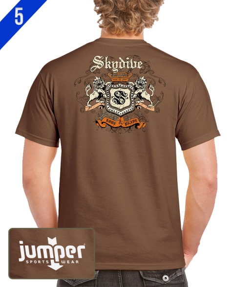 Skydiver Crest 0059 DTG Custom T-Shirt