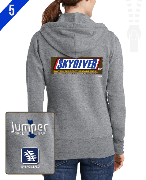 Snickers 0042 Ladies' Custom Full-Zip Hoodie