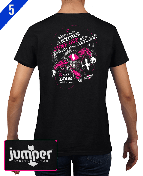 Why Would II 0063 DTG Ladies' Custom T-Shirt