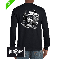 Live to Jump 0053 - Screen, Custom Long Sleeve Shirt