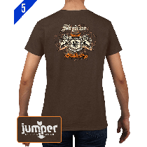 Skydiver Crest 0059 DTG Ladies' Custom T-Shirt