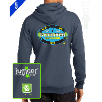 Survivor 0020 Custom Full-Zip Hoodie