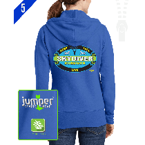Survivor 0020 Ladies' Custom Full-Zip Hoodie