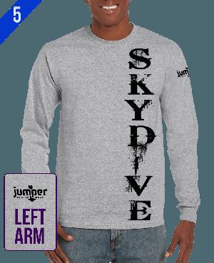 Grunge 0061 - DTG - Custom Long Sleeve T-Shirt