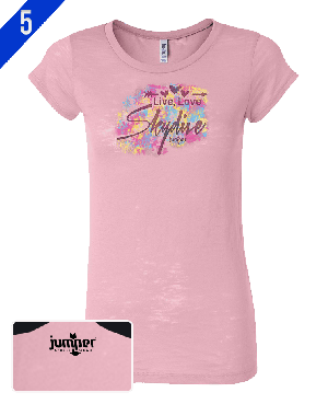 Live Love Skydive - DTG - Ladies' Short Sleeve Shirt