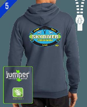 Survivor 0020 Custom Full-Zip Hoodie