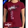 Floral - DTG - Ladies' Short Sleeve Shirt