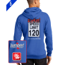 Speed Limit  9816 Custom Pull Over Hoodie
