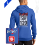 Speed Limit  9816 Custom Full-Zip Hoodie