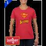 Superman 0047 DTG Ladies' Custom T-Shirt