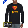 Superman 0047 DTG Custom Long Sleeve Shirt