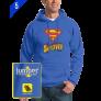 Superman 0047 Custom Pull Over Hoodie