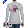 Why Would II 0063 DTG Ladies' Custom Long Sleeve Shirt